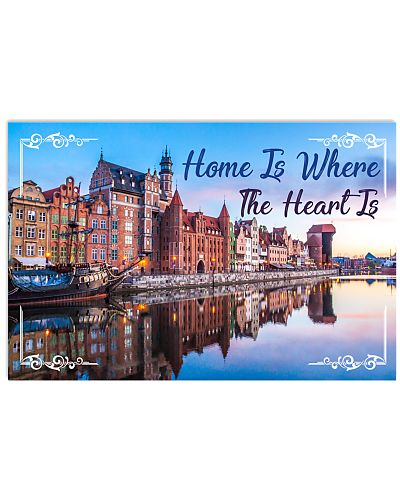 POLAND HOME IS WHERE THE HEARTS IS