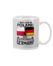 LIVE IN POLAND BEGAN IN GERMANY Mug thumbnail
