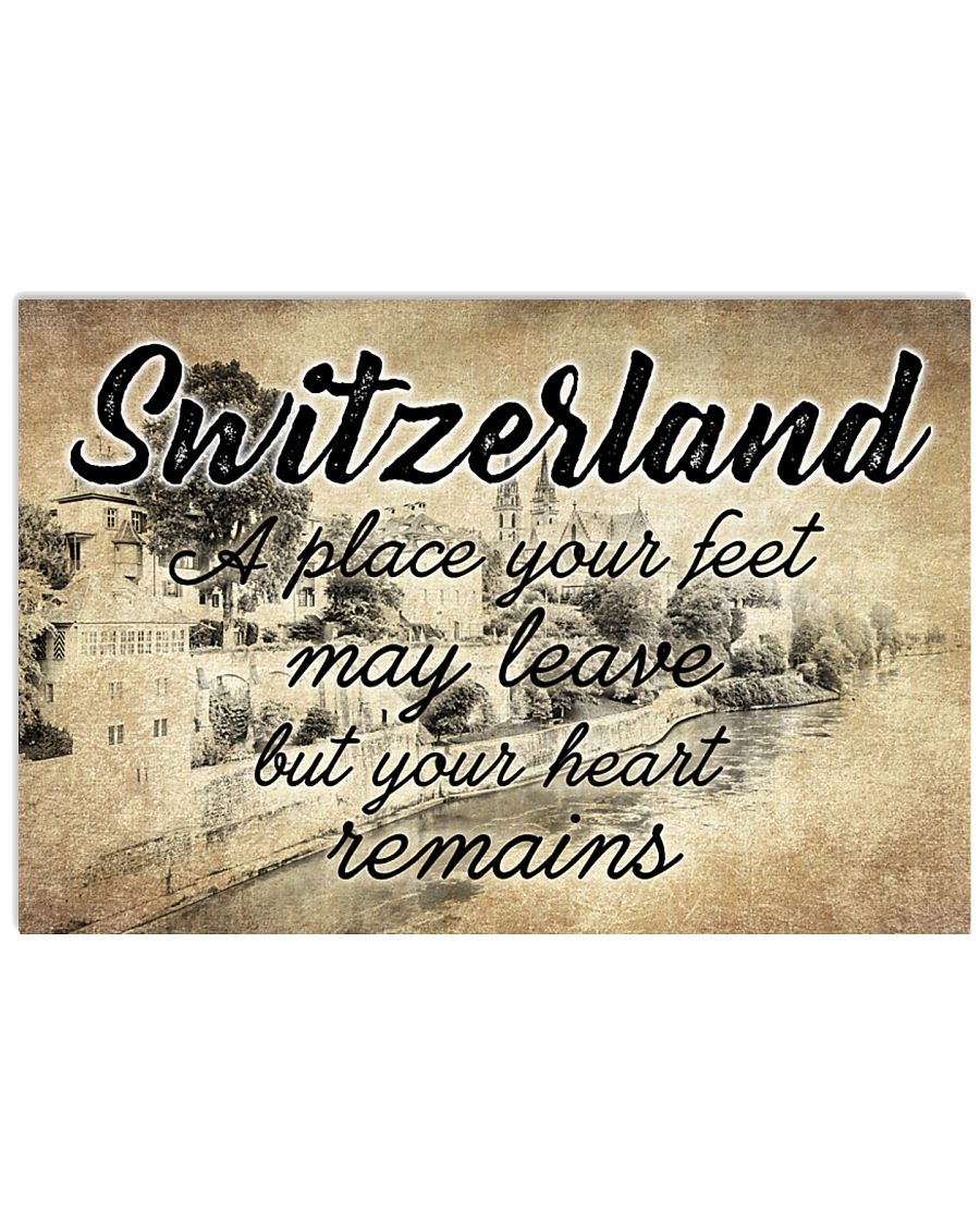 SWITZERLAND A PLACE YOUR HEART REMAINS 24x16 Poster