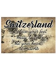 SWITZERLAND A PLACE YOUR HEART REMAINS 24x16 Poster front