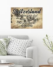 SWITZERLAND A PLACE YOUR HEART REMAINS 24x16 Poster poster-landscape-24x16-lifestyle-01