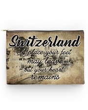 SWITZERLAND A PLACE YOUR HEART REMAINS Accessory Pouch - Large thumbnail