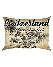 SWITZERLAND A PLACE YOUR HEART REMAINS Rectangular Pillowcase thumbnail