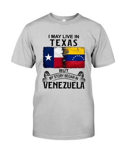 LIVE IN TEXAS BEGAN IN VENEZUELA