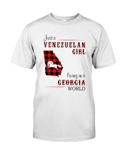 VENEZUELAN GIRL LIVING IN GEORGIA WORLD