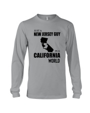 JUST A NEW JERSEY GUY IN A CALIFORNIA WORLD Long Sleeve Tee thumbnail