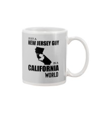 JUST A NEW JERSEY GUY IN A CALIFORNIA WORLD Mug thumbnail
