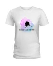 ALASKA I STILL CALL IT HOME Ladies T-Shirt front