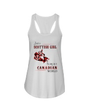 SCOTTISH GIRL LIVING IN CANADIAN WORLD Ladies Flowy Tank thumbnail