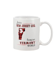 NEW JERSEY GIRL LIVING IN VERMONT WORLD Mug thumbnail