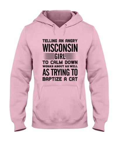AN ANGRY WISCONSIN GIRL CALM DOWN