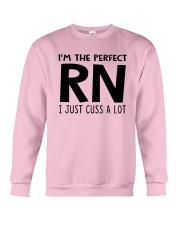 I'M THE PERFECT RN I JUST CUSS A LOT Crewneck Sweatshirt thumbnail