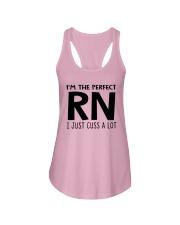 I'M THE PERFECT RN I JUST CUSS A LOT Ladies Flowy Tank thumbnail