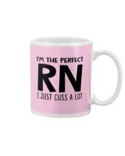 I'M THE PERFECT RN I JUST CUSS A LOT Mug thumbnail