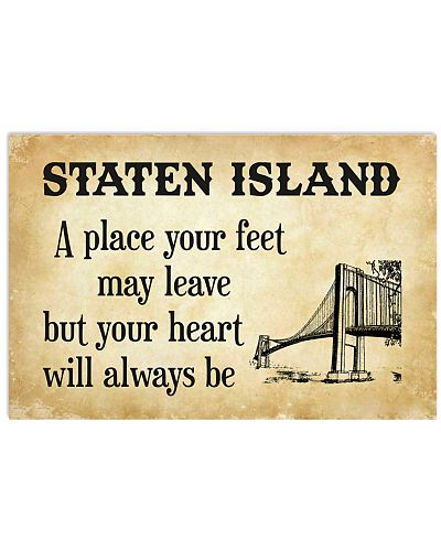 STATEN ISLAND A PLACE YOUR FEET MAY LEAVE