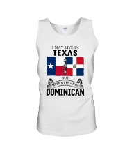 LIVE IN TEXAS BEGAN IN DOMINICAN ROOT WOMEN Unisex Tank thumbnail