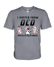 I SUFFER FROM OPD OBESSIVE COW DISORDER  V-Neck T-Shirt thumbnail