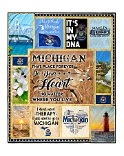 "MICHIGAN IT'S IN MY DNA Quilt 50""x60"" - Throw front"