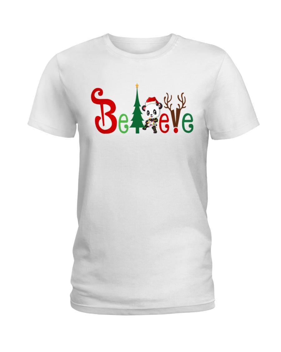 PANDA BELIEVE Ladies T-Shirt