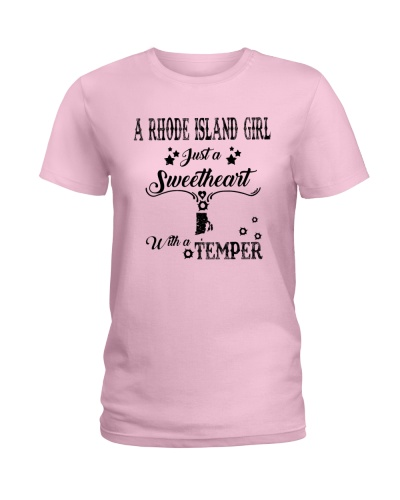A RHODE ISLAND GIRL A SWEETHEART WITH A TEMPER