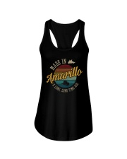 MADE IN AMARILLO A LONG TIME AGO VINTAGE Ladies Flowy Tank thumbnail