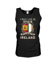 LIVE IN SPAIN MY STORY IN IRELAND Unisex Tank thumbnail