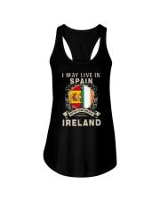 LIVE IN SPAIN MY STORY IN IRELAND Ladies Flowy Tank thumbnail