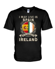 LIVE IN SPAIN MY STORY IN IRELAND V-Neck T-Shirt thumbnail