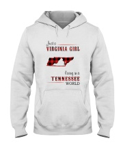 VIRGINIA GIRL LIVING IN TENNESSEE WORLD Hooded Sweatshirt thumbnail