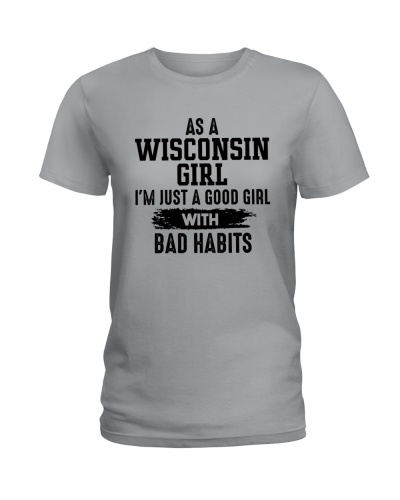 WISCONSIN GIRL JUST A GOOD GIRL WITH BAD HABITS