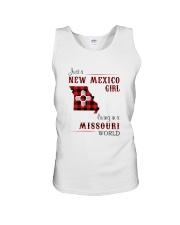 NEW MEXICO GIRL LIVING IN MISSOURI WORLD Unisex Tank thumbnail