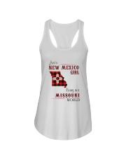NEW MEXICO GIRL LIVING IN MISSOURI WORLD Ladies Flowy Tank thumbnail