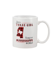 TEXAS GIRL LIVING IN MISSISSIPPI WORLD Mug thumbnail