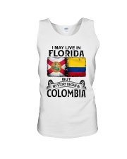 LIVE IN FLORIDA BEGAN IN COLOMBIA Unisex Tank thumbnail