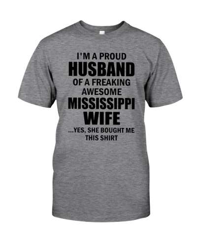 HUSBAND OF A FREAKING AWESOME MISSISSIPPI WIFE
