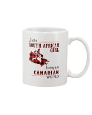 SOUTH AFRICAN GIRL LIVING IN CANADIAN  WORLD Mug thumbnail