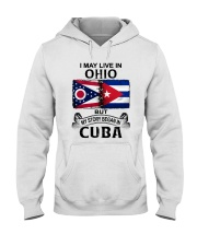 LIVE IN OHIO BEGAN IN CUBA Hooded Sweatshirt thumbnail