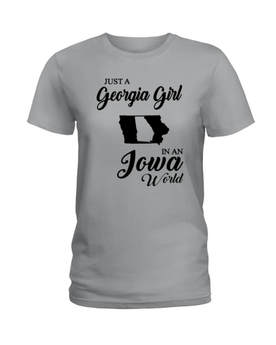 JUST A GEORGIA GIRL IN AN IOWA WORLD