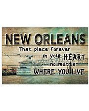 NEW ORLEANS THAT PLACE FOREVER IN YOUR HEART Horizontal Poster tile