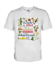 IRELAND  GIRLS SUNSHINE MIXED HURRICANE V-Neck T-Shirt thumbnail