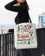 IRELAND  GIRLS SUNSHINE MIXED HURRICANE All-over Tote aos-all-over-tote-lifestyle-front-05