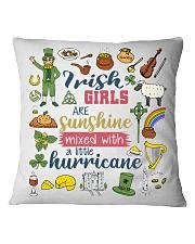 IRELAND  GIRLS SUNSHINE MIXED HURRICANE Square Pillowcase thumbnail