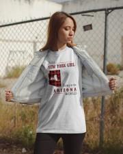 NEW YORK GIRL LIVING IN ARIZONA WORLD Classic T-Shirt apparel-classic-tshirt-lifestyle-07