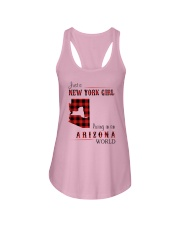 NEW YORK GIRL LIVING IN ARIZONA WORLD Ladies Flowy Tank thumbnail