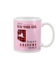 NEW YORK GIRL LIVING IN ARIZONA WORLD Mug thumbnail