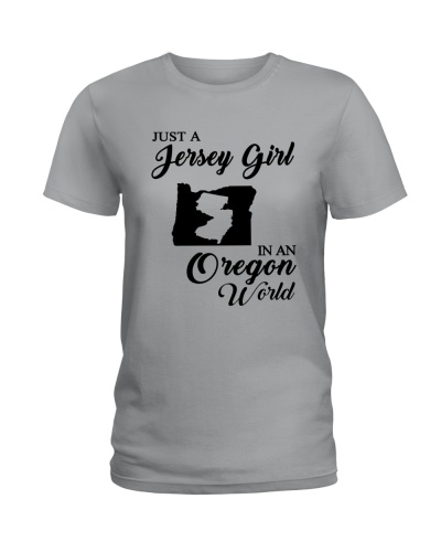 JUST A JERSEY GIRL IN AN OREGON WORLD