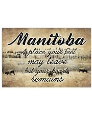 MANITOBA A PLACE YOUR HEART REMAINS Horizontal Poster tile