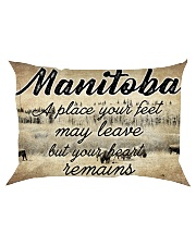 MANITOBA A PLACE YOUR HEART REMAINS Rectangular Pillowcase tile