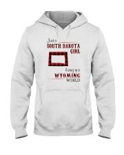 SOUTH DAKOTA GIRL LIVING IN WYOMING Hooded Sweatshirt thumbnail