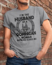 I'M THE HUSBAND OF A DOMINICAN WOMAN Classic T-Shirt apparel-classic-tshirt-lifestyle-26